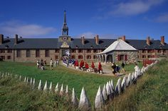 The Fortress of Louisbourg suffered key weaknesses, since it was erected on low-lying ground commanded by nearby hills and its design was directed mainly toward sea-based assaults, leaving the land-facing defences relatively weak. Canada Cruise, Canada Travel, Acadie, Atlantic Canada, Canada Eh, Cape Breton, Prince Edward Island, Spain And Portugal, New Brunswick