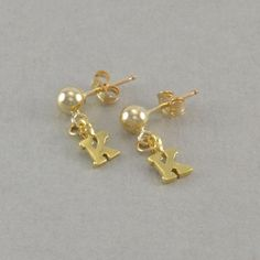 yellow women earrings girls gold stud s com jewelry dp disney womens mouse amazon minnie zirconia girl and cubic