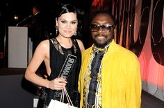 "Jessie J and Will.i.Am at the ""Glamour Women Of The Year Awards"" in London"