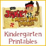 Jake y los Piratas de Nunca Jamás:  Libro de Actividades para Imprimir Gratis.