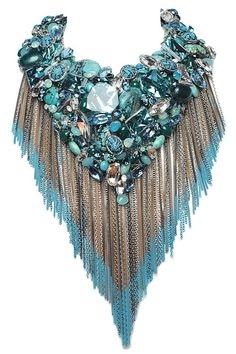 Spring 2013 Accessories Top Trends: Call of the Wild....  Swarovski RTW Spring 2013  Photo by Xavier Granet