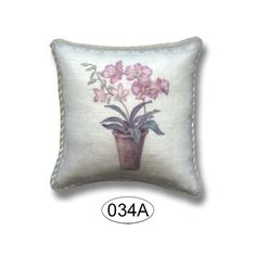 Pillow - Potted Orchid