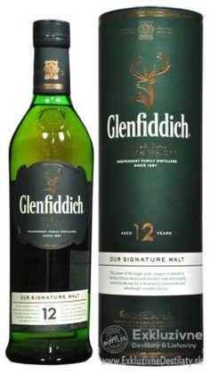Glenfiddich 12 yo 0,7 l 40% tuba