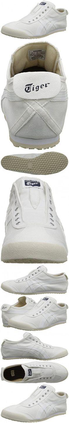 Onitsuka Tiger by Asics Unisex Mexico 66® Slip-On White/White Sneaker Men's 9.5, Women's 11 Medium