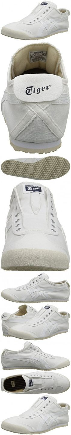 Onitsuka Tiger by Asics Unisex Mexico 66® Slip-On White/White Sneaker Men's 9.5, Women's 11 Medium