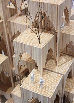 """Type] great buildings come from, 300 models top architectural inspiration molding tell you how to """"landing""""! Landscape Architecture, Interior Architecture, Planer Layout, 3d Modelle, Arch Model, Modelos 3d, Urban Design, Design Model, Scale Models"""