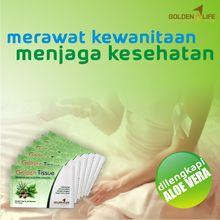 Golden Tissue: Golden Tissue : Merawat Kewanitaan Menjaga Kesehat...