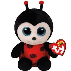 Ty Beanie Boo's Izzy Lady Bug, Regular