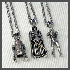 Han Cholo x Star Wars necklaces