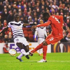 What a hit from This Is Anfield, Liverpool Football Club, Europa League, Soccer, Instagram Posts, Sports, Stage, Box, Hs Sports