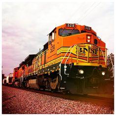 BNSF train.