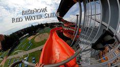Bešeňová Red Water Slide 360° VR POV Onride Red Water, Water Slides, Vr, Travel, Viajes, Destinations, Traveling, Trips