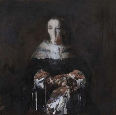 Nicola Samori's work is enticing in that it encourages the audience to question what is beautiful, what is ruined and whether or not one can entail the other.