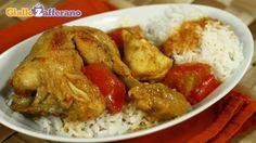 Lo stufato di pollo e arachidi è una preparazione molto diffusa in Ghana. La caratteristica dello stufato di pollo e arachidi è l'unione di questa carne delicata con il sapore più marcato delle arachidi.  Qui la #ricetta: http://ricette.giallozafferano.it/Stufato-speziato-di-pollo-e-arachidi.html #GialloZafferano #ricettedalmondo #Africa