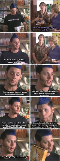 Ten Inch Hero [gifset] - Priestly shutting down some idiots.