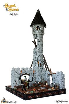 "LEGO Sword in the Stone – ""Kay's Squire"""
