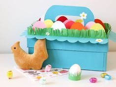 4x Paasdoos maken & meer creatieve inspiratie voor het paasontbijt op school. Kids Craft Supplies, Crafts For Kids, Arts And Crafts, Lego Letters, Creative Inspiration, Toy Chest, Make Your Own, Art For Kids, Projects To Try
