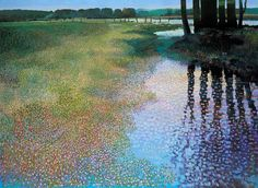 Ton Dubbeldam  (Holland, b. 1957)  Spring Reflections