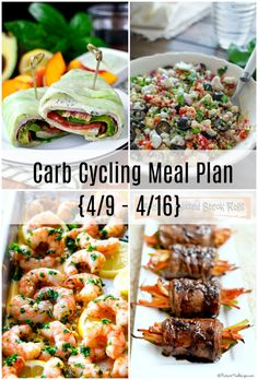 Carb Cycling Meal Plan - - Confessions of a Cookbook Queen low carb diet carb diet plan carb diet plan diabetic friendly carb diet plan keto carb diet recipes Diet Plan Menu, Keto Meal Plan, Diet Meal Plans, Meal Prep, Clean Eating Meal Plan, Food Plan, High Carb Foods, Low Carb Diet, High Carb Meals