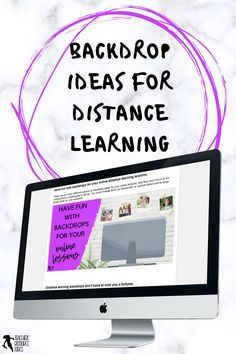 Tired of that blank wall behind you during online calls? Or are you someone who scrambles to tidy up your background before an online call to make sure it looks presentable? Backdrops can actually be a lot of fun and can make your online lessons with your students that extra bit more special too! #distancelearning #remotelearning #onlinelessons #backdropideasforlessons Free Teaching Resources, School Resources, Teacher Resources, Back To School, High School, Online Lessons, Teacher Blogs, Classroom Decor, Distance