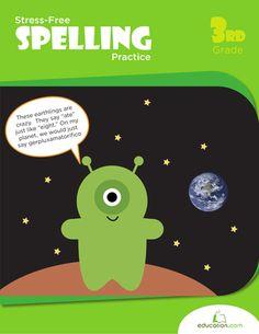 Workbooks: Stress-Free Spelling Practice