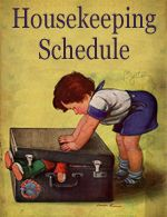 House Cleaning Schedule - Time-Warp Wife | Time-Warp Wife