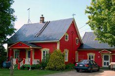 La maison rouge - Saint-Antoine-de-Tilly, Quebec