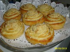 Dessert Recipes, Desserts, Muffin, Sweets, Cooking, Breakfast, Food, Roll Ups, Lemon Tarts