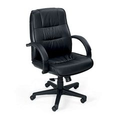 Mid-Back Leather Executive Chair // NBF Signature Series // National Business Furniture