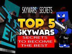 Top 5 SECRETS to win SKYWARS Minecraft BATTLE Minecraft Games, Outdoor Activities, The Secret, Battle, Electric, Watch, Kids, Top, Young Children