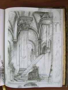 LOTR sketch by Alan Lee. ....His sketches just blow my mind.