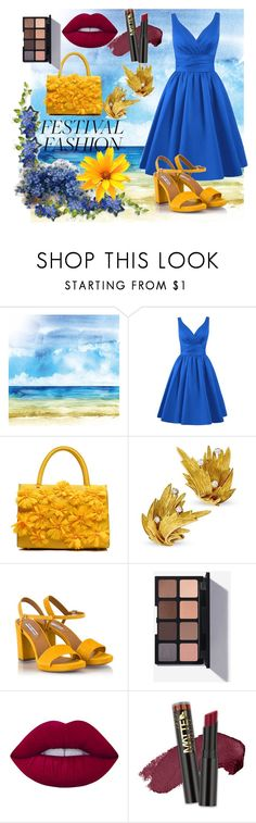 """""""Festival fashion"""" by fashionfreak434 ❤ liked on Polyvore featuring Fratelli Karida, Lime Crime and L.A. Girl"""