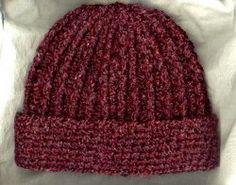 Ribbed Hat | AllFreeCrochet.com