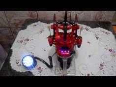 Motor Stirling com 2 pistões de potência + 16 leds (Homemade Stirling Engine) - YouTube