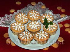 Piškotové muffiny s dvojitou náplní