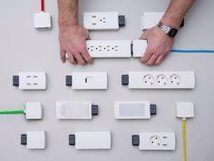 """다음 @Behance 프로젝트 확인: """"YOUMO - Smart Modular Power"""" https://www.behance.net/gallery/31086753/YOUMO-Smart-Modular-Power"""