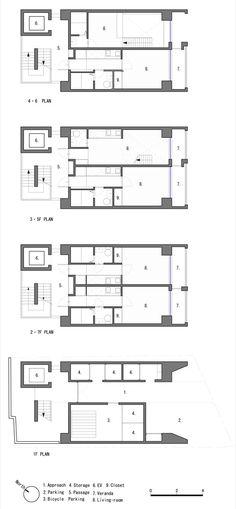 • APARTMENT • 2007, Katayama-cho, Suita-shi, Osaka, Japan • arch MATSUNAMI MITSUTOMO •