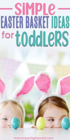 If you are looking for the best Easter basket ideas for toddlers in 2019 - we have a extensive list here! Easter is a fun holiday, and as a mom you can make it a lot of fun! Easter Baskets For Toddlers, Kids Gift Baskets, Easter Crafts For Kids, Best Gifts For Mom, Gifts For Kids, Mom Gifts, Mom Survival Kit, Easter Stickers, Birthday Crafts