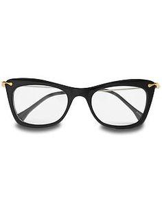 Elizabeth and James Chrystie cat-eye glasses