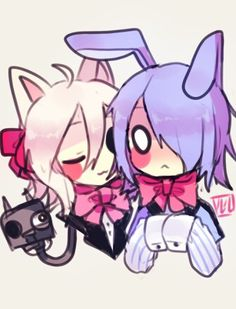 Mangle x toy bonnie