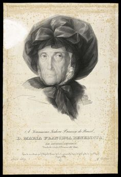 A Serenissima Senhora Princeza do Brasil, D. Maria Francisca Benedicta : de saudosa memoria, tendo de idade 83 annos e 25 dias  Aguilar, Manuel Marques de, 1767-1816.