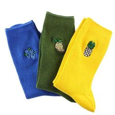 Material: Cotton, Polyester Free SizeFree shipping WorldwideDelivery time: 15-35 days Cheap Socks, Cool Socks, Green Grapes, Funny Socks, High School Girls, Ankle Socks, Sock Shoes, Hosiery, Korean Fashion