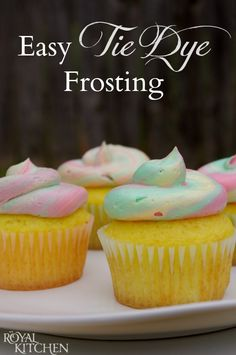 Did you know that Oct 21st, 2015 is the time Marty traveled to, in the Back to the Future Movie? How to Throw a Back to the Future Party! Check out these Tie Dyed Cupcakes! (sponsored) #ad #BTTF2015