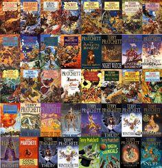 A Quick Introduction to Terry Pratchett's Discworld - Imgur