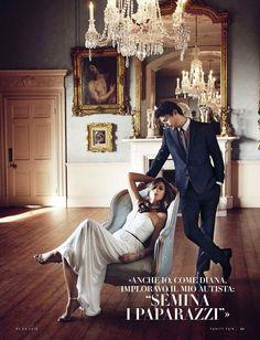 Elizabeth Hurley for Vanity Fair Italy April 2015