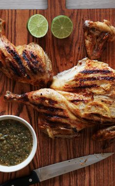 Grilled Chicken with Tomatillo Salsa