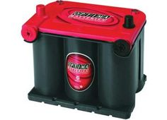 Optima Battery Sealed Lead Acid Battery - Group 7525 Red Top Starting Only On Sale Everyday At Zequip Equipment Superstore. Battery Terminal, Optima Battery, Lead Acid Battery, Seal, Warehouse, Top, Magazine, Barn, Crop Shirt