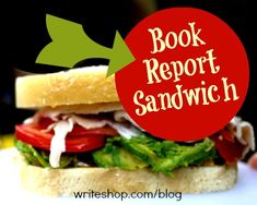 Book report sandwich