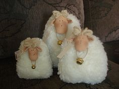 Darling little sheep family