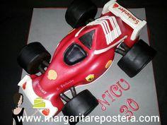 Ese coche de Fórmula 1 de Fernando Alonso. Rica tarta